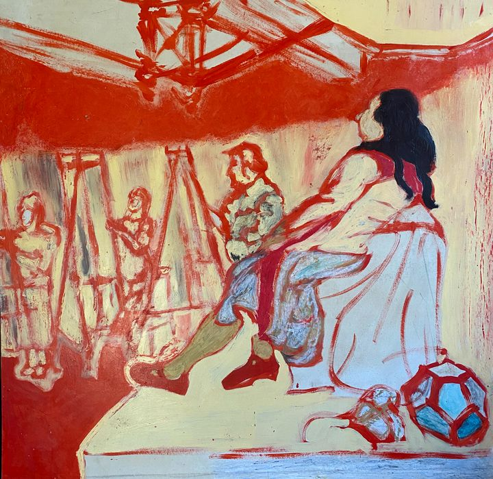 Life Drawing 2 - Cint Clare