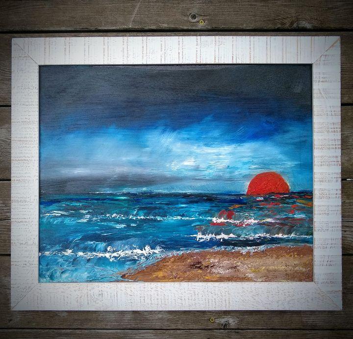 Ocean Sunrise - Deanna Allegar