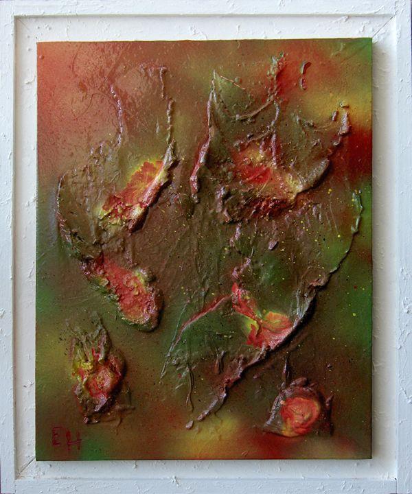 Eruption - Peintre design 3D