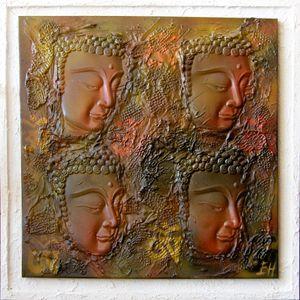 Les 4 bouddhas