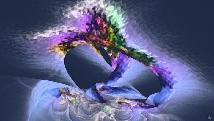 Cosmic Egg - Digital Art - Diana Coatu