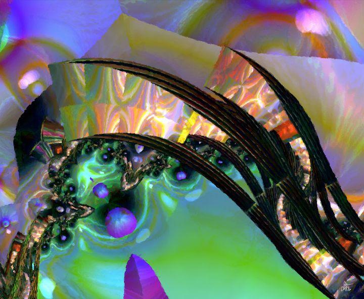 Trampoline Of Life - Digital Art - Diana Coatu