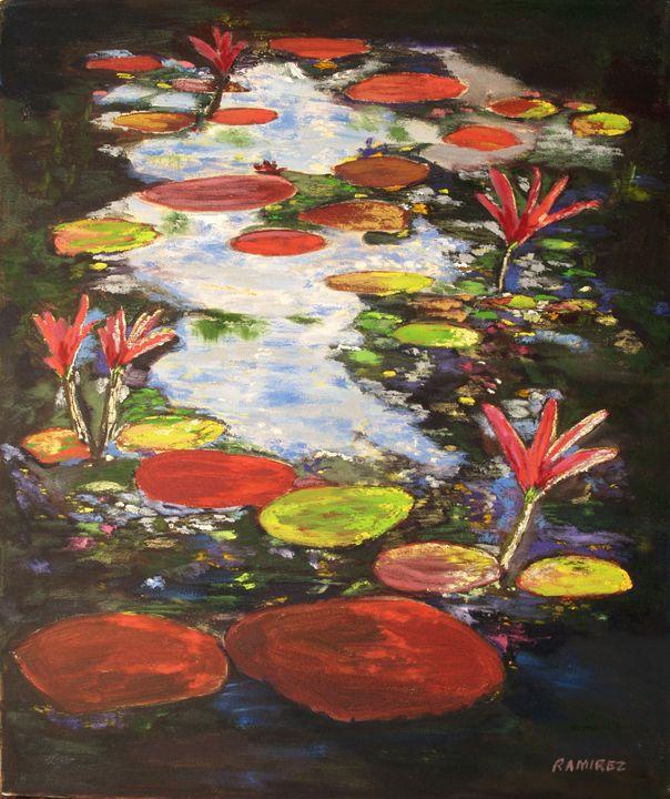 Water Lily - JosephRamirezart
