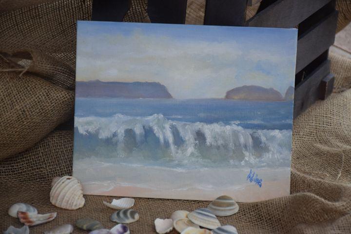 Jervis Bay - Seascape - Alice's Brush Strokes Art
