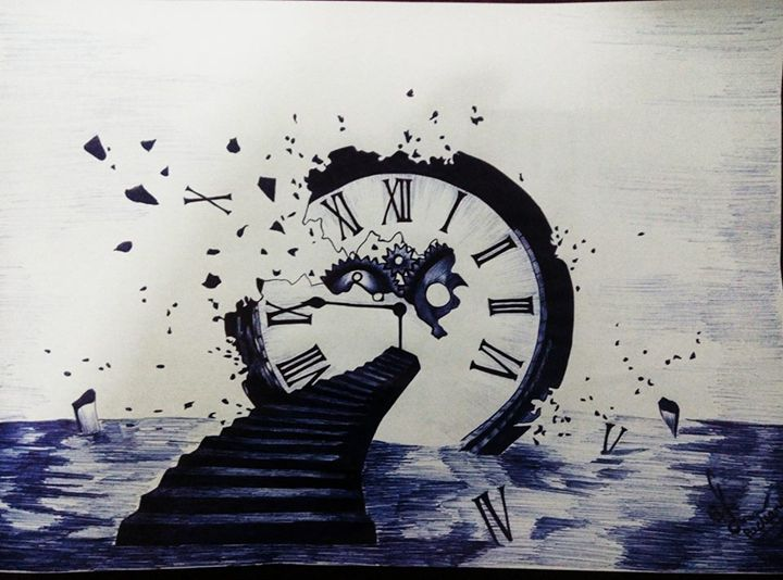 Time - Pen art