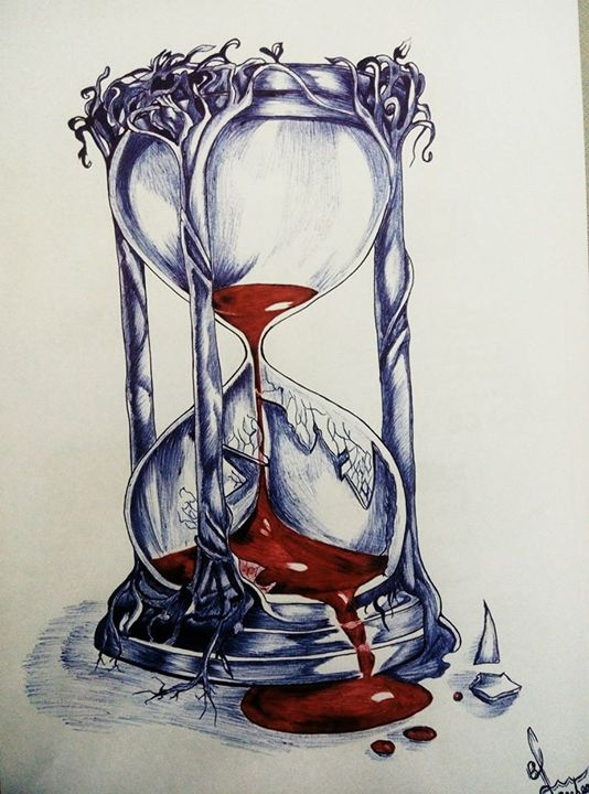 Time - Pen art