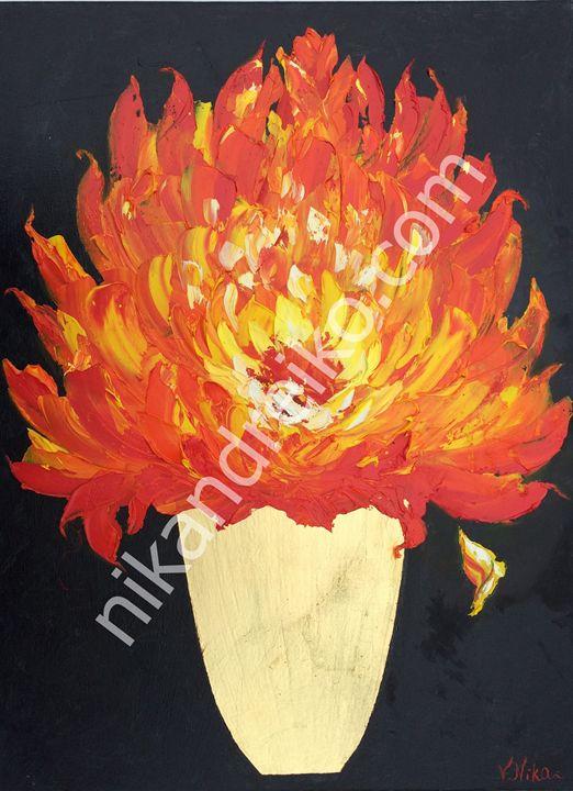 """""""Bouquet of Fire"""" - Nika Andreiko"""