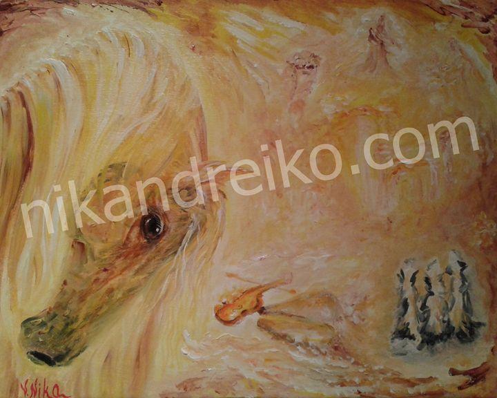 """Horse in Desert"" - Nika Andreiko"