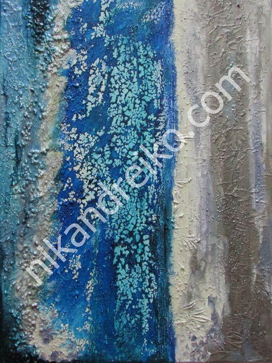 """Cypress Waterfall"" - Nika Andreiko"