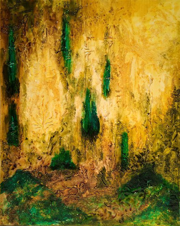 """Emerald Sunset"" - Nika Andreiko"