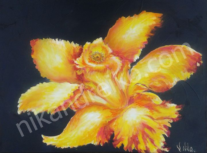 """""""Orchid Rooster"""" - Nika Andreiko"""