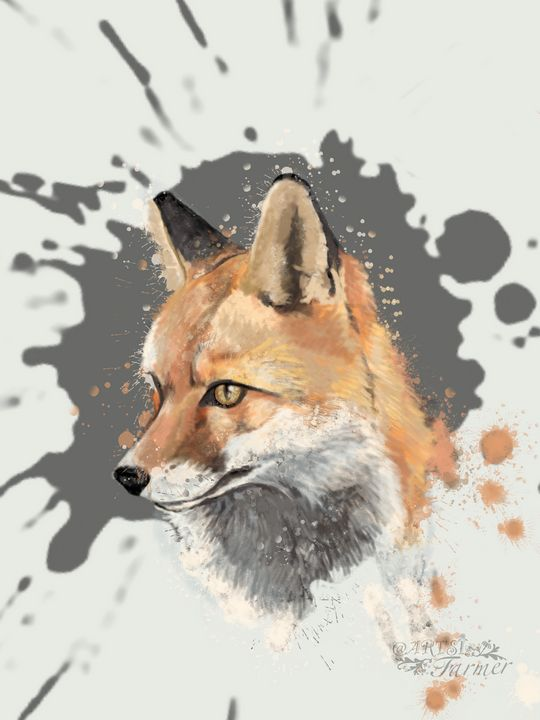 Red Fox #1 - The Artsi Farmer