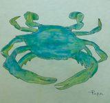 Crab art