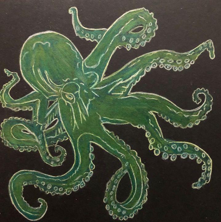 Octopus - Art by Sam Papa