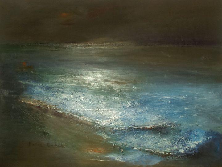 Moonlight - Marina_Emphietzi art Gallery