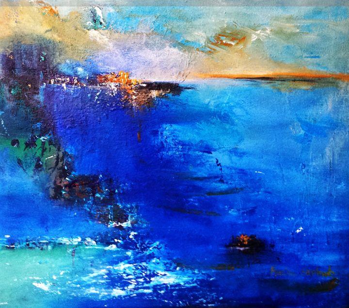 Summer Breeze - Marina_Emphietzi art Gallery