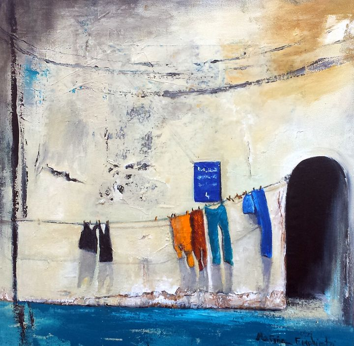 Shadows' play - Marina_Emphietzi art Gallery