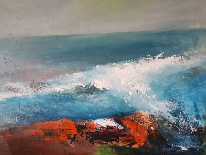 'The edge of the water' - Marina_Emphietzi art Gallery