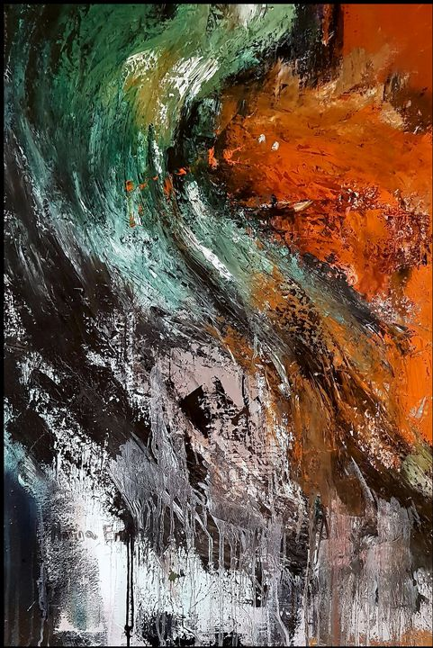 Kissing the shoreline - Marina_Emphietzi art Gallery