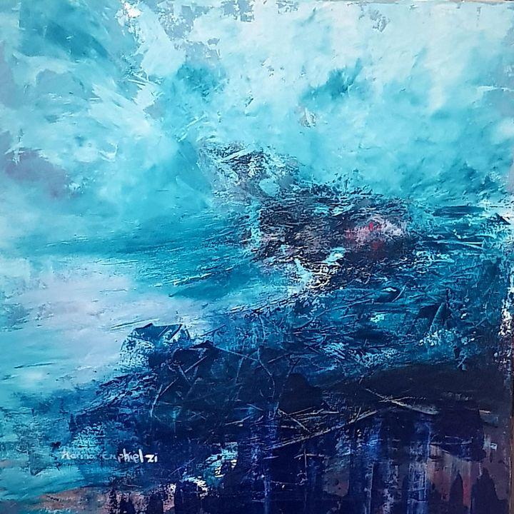 Unknown waters - Marina_Emphietzi art Gallery