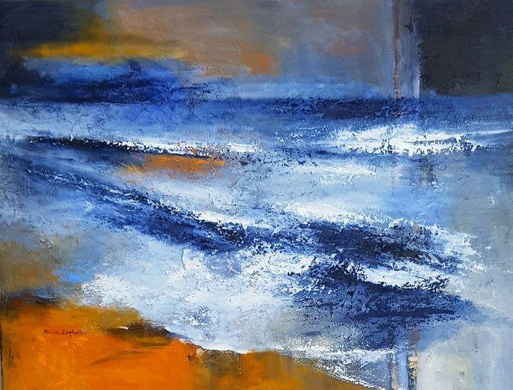 Warm Seas - Marina_Emphietzi art Gallery