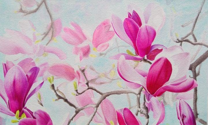 Magnolia - Chris'Art