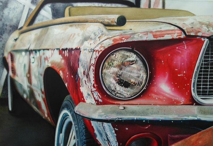 Ford Mustang - Chris'Art