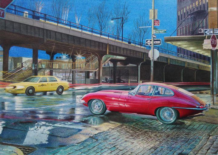At the crossroads - Chris'Art