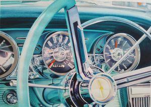 Steering Wheel Ford Thunderbird 1963