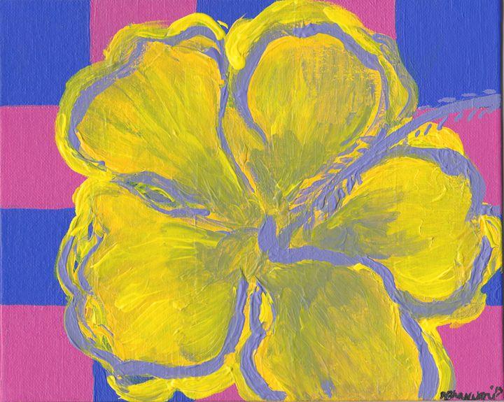 Purple Flower - Dhan Arts
