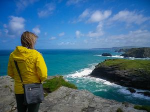 LOOK TO THE FUTURE TINTAGEL CORNWALL