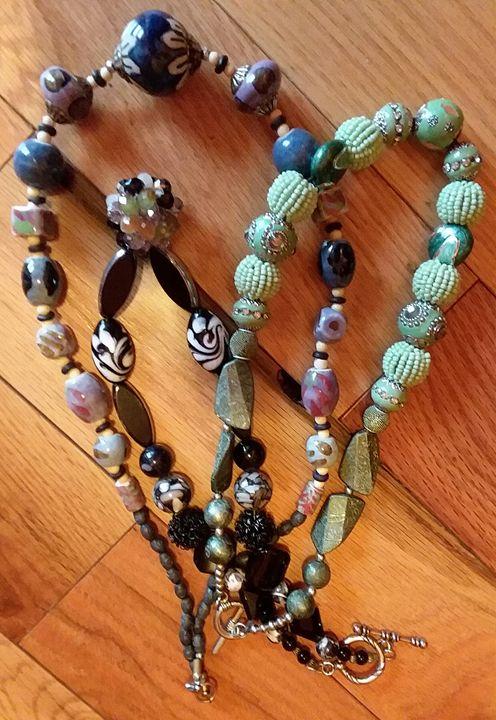 Stone necklaces - Bunni's Originals