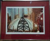 The Igloo Oil painting framed