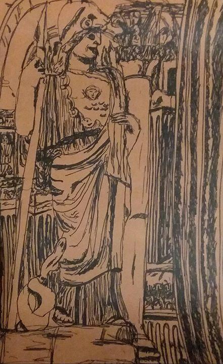 sketch art Roman Empire - Bunni's Originals