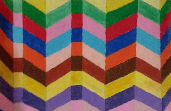 colorful art - Bunni's Originals