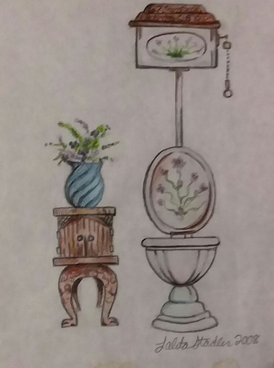 Victorian Bathroom collection - Bunni's Originals