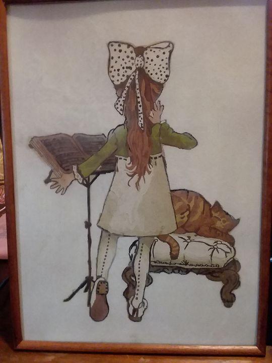 Holly Hobbie Classic Oil Painting - Bunni's Originals