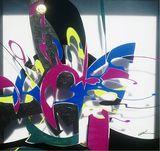 original painting on glass