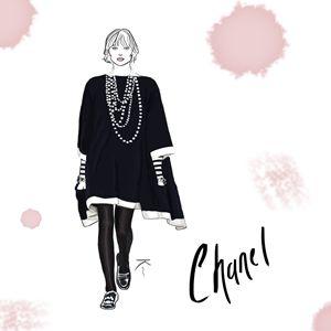 Chanel Runway Illustration