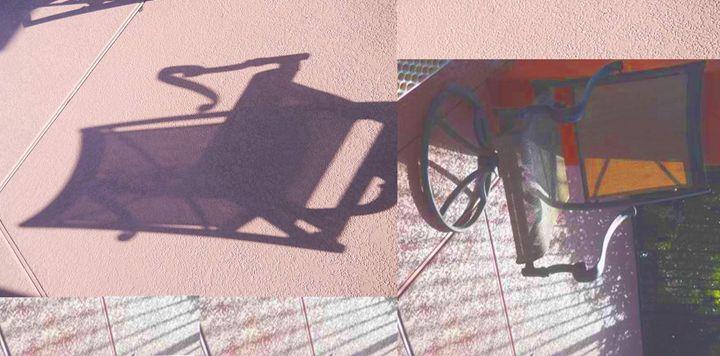 Chair Shadows - Sunshower Art