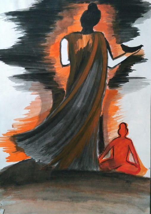 lord buddha - Pooja Singh
