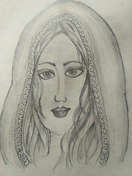 a woman face - Pooja Singh