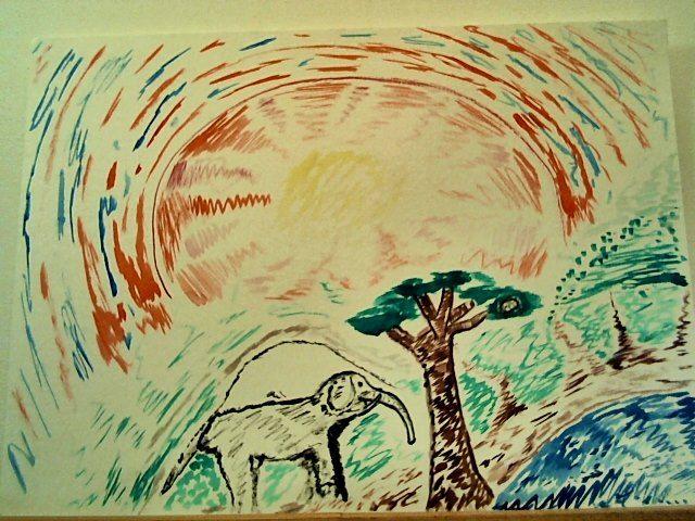 Elephant Dawn - Visuals of a Medicine Woman