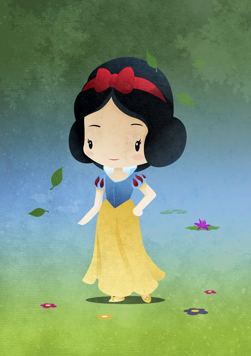 Princess Snow Pale - DevilleART