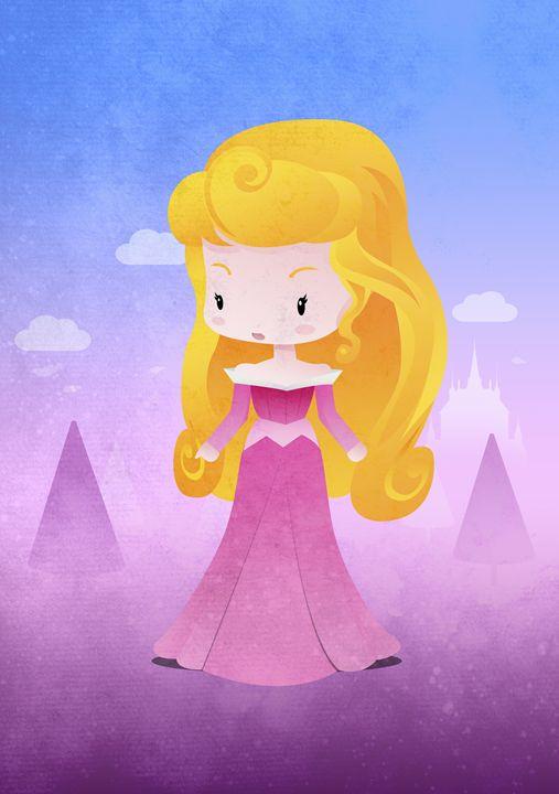 Princess Ourora - DevilleART