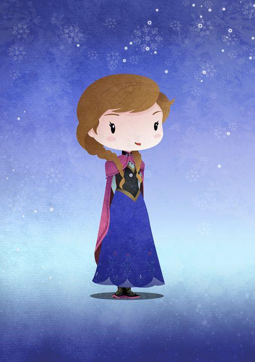 Iced Princess Ana - DevilleART
