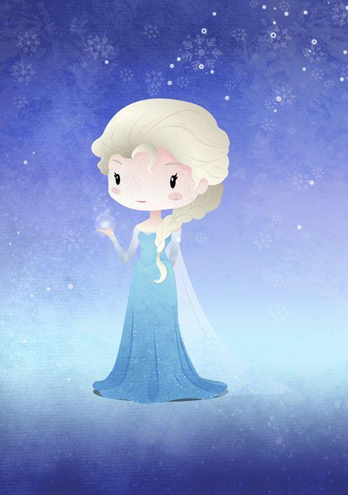 Iced Princess Olsa - DevilleART
