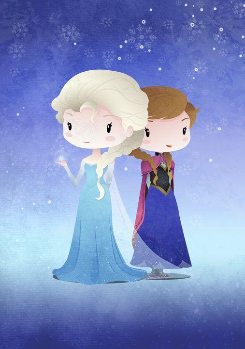 Iced Princesses - DevilleART