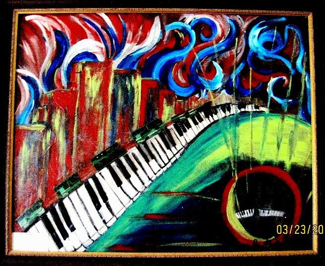 """""""Locomotion of Colors"""" - Colors of Music and Life"""