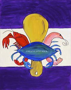 New Orleans Seafood Fleur de Lis PRI